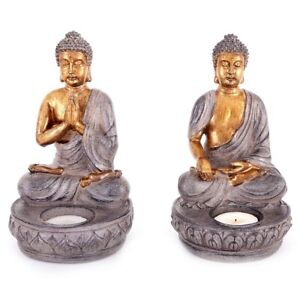 Buddha Candle tealight Holder includes FREE TEA LIGHTS. Spiritual. Thai decor