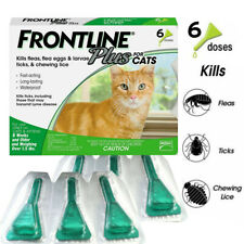 Frontline Plus Flea and Tick Treatment Control for Cats and Kittens 6 Doses