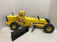 Vintage Tonka Mighty Road Grader with Side Plow Turbo-Diesel XMB-975 #54240