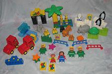 Lego Duplo Zoo Set - Elephants, Polar Bear, Penguins, Big Cats, Seal, Figures