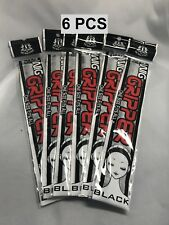 LOT 6 PCS OF THE TRUE STYLES WIG GRIPPER ONE SIZE FITS MOST COLOR BLACK