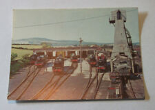 View of the South End including the Ash plant Steamtown Carnforth Postcard