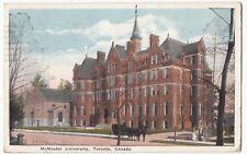 Canada; McMaster University, Toronto PPC, 1925 Postal Terminal PMK to Guernsey