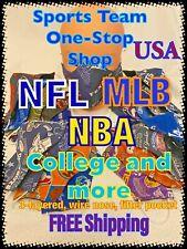 NFL Mask, NBA Mask, MLB Mask, College Team 3-layered Fabric Mask, Filter Pocket