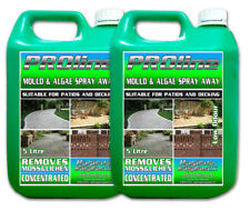 Patio Decking Fencing Mould Algae Moss Killer Path Magic Drive Cleaner 2 x 5L