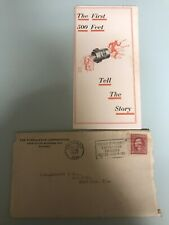 1922 The Turbulator letterhead with Brochure ,catalog & price List & Envelope