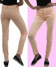 **SALE** Ladies Stretchy Coloured Skinny Jeggings High Waisted Trousers Jeans