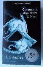 CINQUANTA SFUMATURE DI NERO E. L. JAMES LIBRO