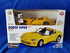 Burango - Dodge Viper  RT/10 1992  DieCast Car 1:24