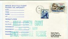 1982 Space Shuttle Flight Flown Via Aircraft Patrick Air Force Jolly Green Giant