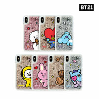 BTS BT21 Official Authentic Goods Glitter Case Comic Series By GCASE