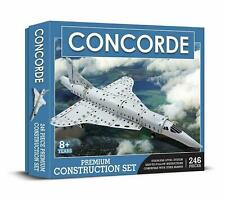 Concorde Airplane Stainless Steel Premium Construction Set 246 Piece Ages 8+ New