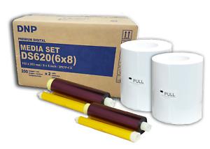 DNP DS620A 6x8 Print Pack - 400 prints/pack FL-DS620(68)