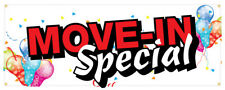 Move In Special Banner Storage Rental Apartment Home Sign 36x96