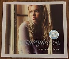 Mint Condition Mandy Moore Uk I Wanna Be With You Cd Sony Promo Single 4 Track