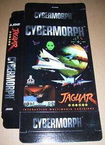 Atari Jaguar 64-Bit Games Console Original CYBERMORPH Game Box NEW P/N J9000