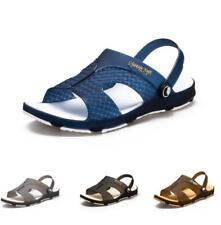 New Mens Slingbacks Sandals Shoes Cut out Flats Walking Sports Non-slip Beach B