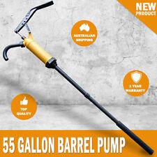 NEW 55 Gallon Hand Lever Action Drum Barrel Pump Dispense Diesel Oil Fuel