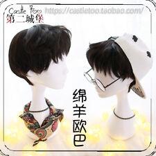 Lolita Harajuku Men's Gay Hair Daily Wig Party Japanese Style Hairpiece Short