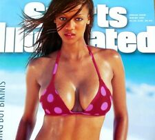 RARE LARGE 1997 Sports Illustrated Swimsuit POSTER TYRA BANKS Cover AGT 29 x 21