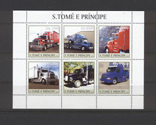 Sao Tome TRUCKS/Transport 6v sht ref:n11867