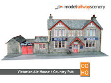 COUNTRY PUB/VICTORIAN ALE HOUSE CARD KIT-OO SCALE/1:76 FOR HORNBY BACHMANN KX005