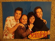"Jerry Seinfeld Jason Alexander ""Jerry"" ""George"" ""Seinfeld"" RARE COA signed LOOK!"