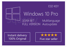 License / Licenza Microsoft Windows 10 PRO Multilanguage | 100% Original