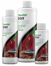 Seachem Flourish Iron 50ml 100ml 250ml 500ml 2L Aquarium Plant Fish Tank Food