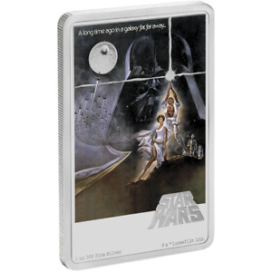 Star Wars: A New Hope 1oz Silver Coin