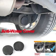 2xWaterproof Rear Tail Pipe Cover Exhaust Trim For Benz Smart Fortwo W451 W453