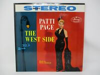 Patti Page The West Side LP Mercury Stereo 1958