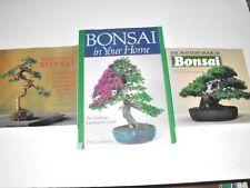 LOT # 108 - THREE BOOKS ON GROWING BONSAI
