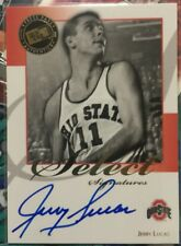 2008 Jerry Lucas Press Pass SELECT SIGNATURES AUTO.