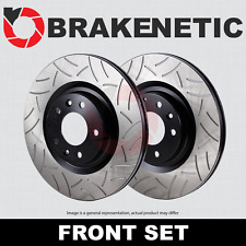 [FRONT SET] BRAKENETIC PREMIUM GT SLOTTED Brake Disc Rotors 370mm BNP34144.GT