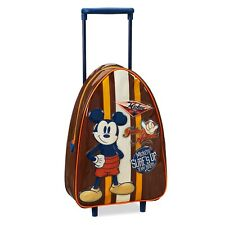 Disney Store Mickey Mouse Rolling Luggage - Small