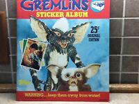 1984 Panini GREMLINS Sticker Album, No Stickers