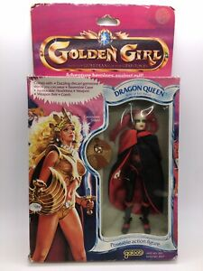 """1984 Galoob Golden Girl 6"""" Dragon Queen Figure Mint In Sealed Box MISB She-Ra"""