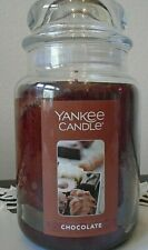 Yankee Candle   Chocolate   22 oz. 1 Single  NEW   Free Shipping