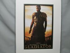 Gladiator 2001 R Crowe Ticket Booth Coming Attraction Alert Color Movie