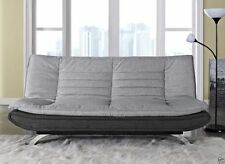 Leather Up to 3 Seats Modern Sofa Beds