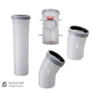 Buderus Abgassystem GA-K Kunststoff PP DN80 Abgasrohr Bogen Revision 10 m Pack