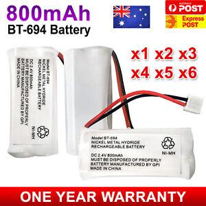 800mAh Replacement For Uniden Cordless Phone Battery BT-694 BT-694S BT-694m 2.4V