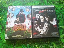 Charlie y la fabrica de chocolate Sweeney Todd johnny depp  TIM BURTON