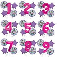 LOL Surprise! Birthday Party Supplies Balloon Bouquet 5pc Age 1 - 9