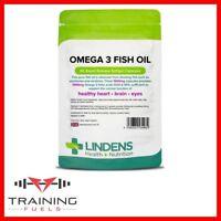 Lindens Omega 3 Fish Oil (30% DHA/EPA) 90 Capsules Heart & Brain Health