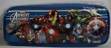 Marvel Avengers Iron Man Thor Hulk Captain America School Pencil Case - NEW