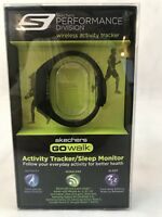 Skechers GO Walk Activity Tracker Bluetooth Black Pre Owned Fitness New Year