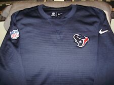 668987ec6c2cf NFL Houston Texans Nike Sideline Modern Crew Blue Thick Shirt Jersey Men's  3xl