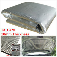Car Hood Engine Firewall Block Heat Mat Sound Insulation Deadener Aluminum Foil